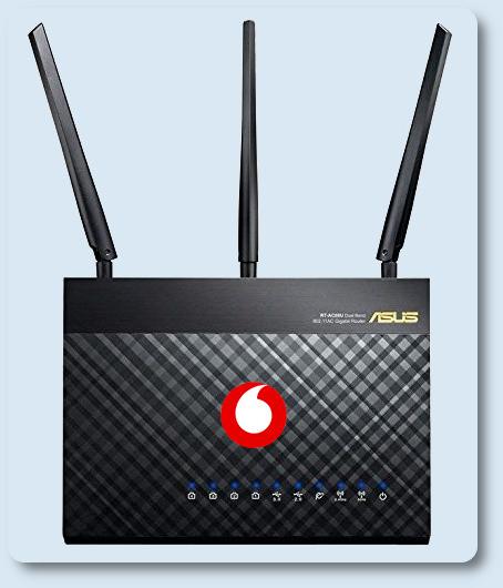 Sostituire Vodafone Station con ASUS DSL-AC68U