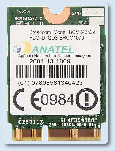 Broadcom BCM94352Z su Debian 10
