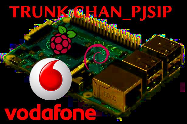 Configurazione Trunk Pjsip Asterisk su Linea Vodafone