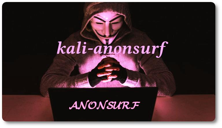 Kali-anonsurf e anonsurf su Debian 10