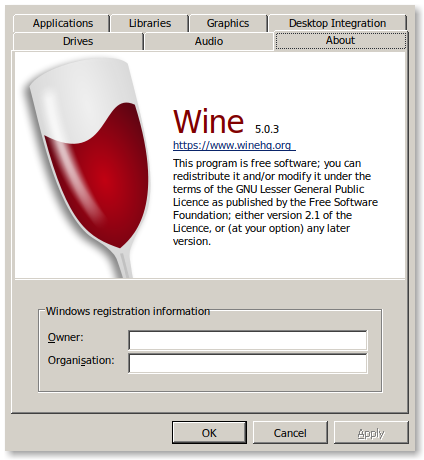 How To Wine 5 su Debian 10