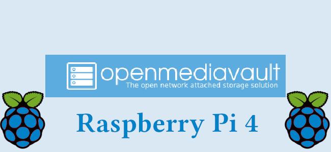 OpenMediaVault su Raspberry Pi 4