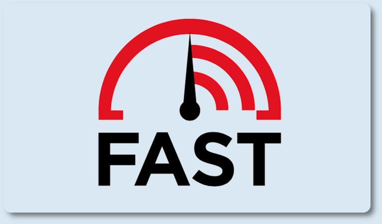Fast-cli speedtest da terminale Debian 10