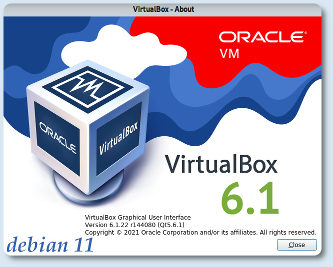 VirtualBox on Debian 11 Bullseye